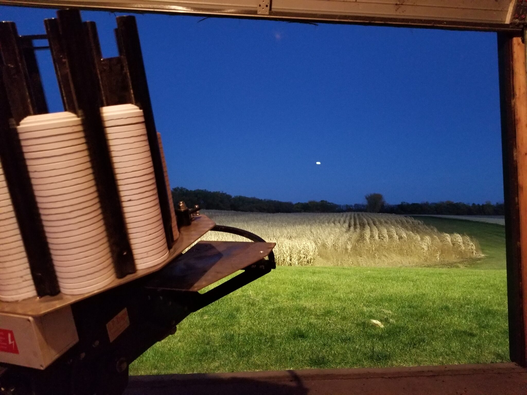 Trap Range at Night