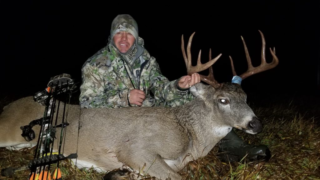 Jeff and his buck